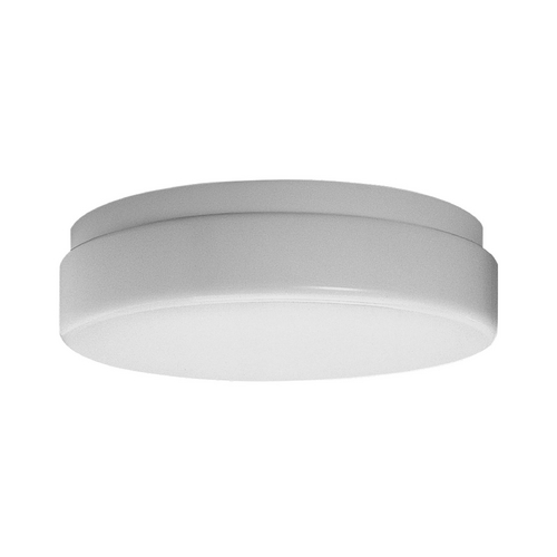 Progress Lighting Progress Close To Ceiling Light with White in White Finish P7373-30