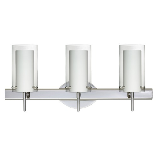 Besa Lighting Besa Lighting Pahu Chrome Bathroom Light 3SW-C44007-CR