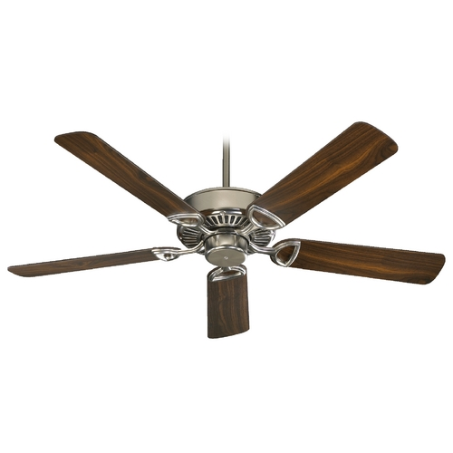 Quorum Lighting Quorum Lighting Estate Satin Nickel Ceiling Fan Without Light 43525-65