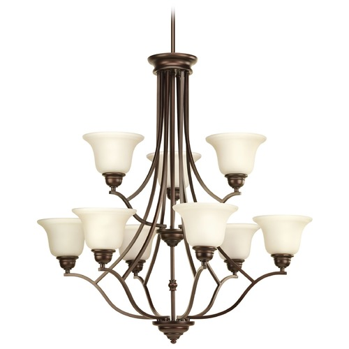 Progress Lighting Progress Lighting Spirit Antique Bronze Chandelier P4611-20