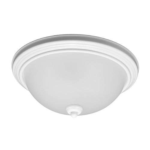 Sea Gull Lighting Sea Gull Lighting Ceiling Flush Mount White LED Flushmount Light 7716391S-15