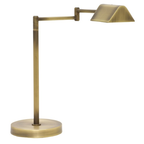 House of Troy Lighting House Of Troy Delta Antique Brass LED Swing Arm Lamp D150-AB