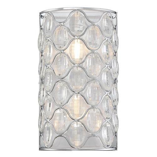 Savoy House Savoy House Lighting Opus Polished Chrome Sconce 9-6064-2-11