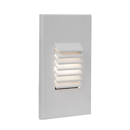 WAC Lighting WAC Lighting Wac Landscape White LED Recessed Step Light WL-LED220-AM-WT