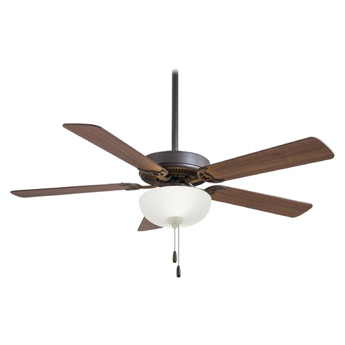 Minka Aire Minka Aire Contractor Ii Uni-Pack Oil Rubbed Bronze LED Ceiling Fan with Light F448L-ORB