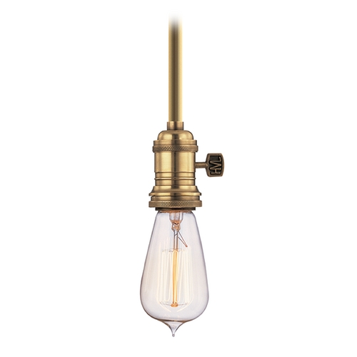 Hudson Valley Lighting Pendant Light in Aged Brass Finish 9001-AGB