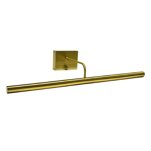 House of Troy Lighting LED Picture Light in Satin Brass Battery Operated by House of Troy BSLED24-51