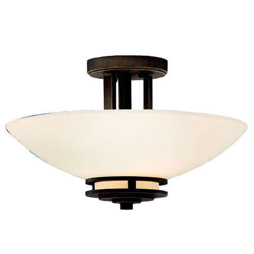 Kichler Lighting Kichler Two-Light Semi-Flush Ceiling Light 3674OZ