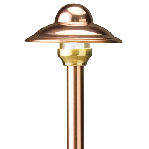 Copper Low Voltage Path Light 15430Co