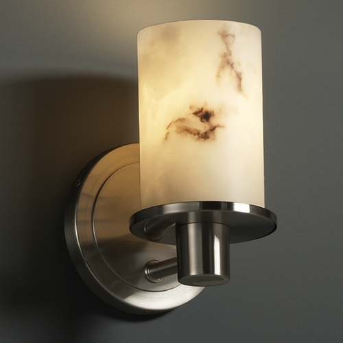 Justice Design Group Justice Design Group Lumenaria Collection Sconce FAL-8511-10-NCKL