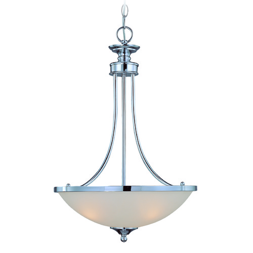Jeremiah Lighting Jeremiah Spencer Chrome Pendant Light with Bowl / Dome Shade 26133-CH