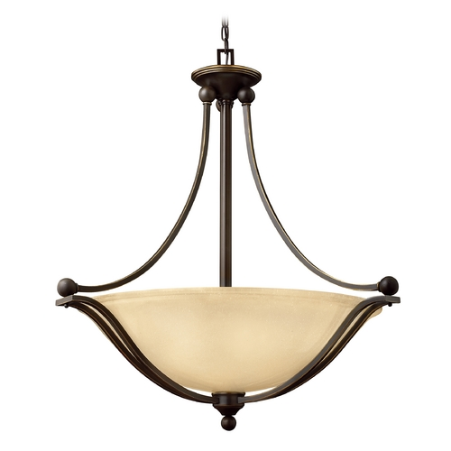 Hinkley Lighting Four-Light Pendant 4664OB