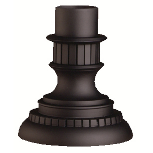 Kichler Lighting Kichler Pier Mount in Black Finish 9531BK