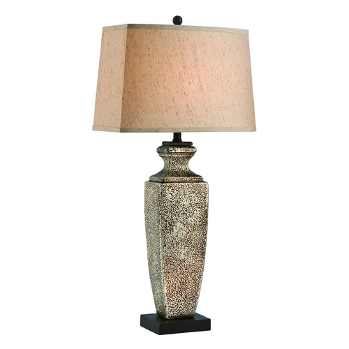 Lite Source Lighting Lite Source Lighting Hans Gold Table Lamp with Rectangle Shade LSF-22500