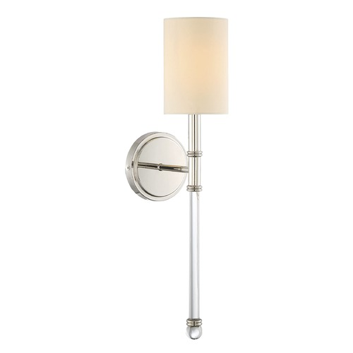 Savoy House Savoy House Lighting Fremont Polished Nickel Sconce 9-101-1-109