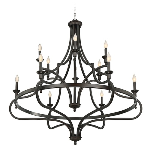 Savoy House Savoy House Lighting Shields English Bronze Chandelier 1-9084-12-13