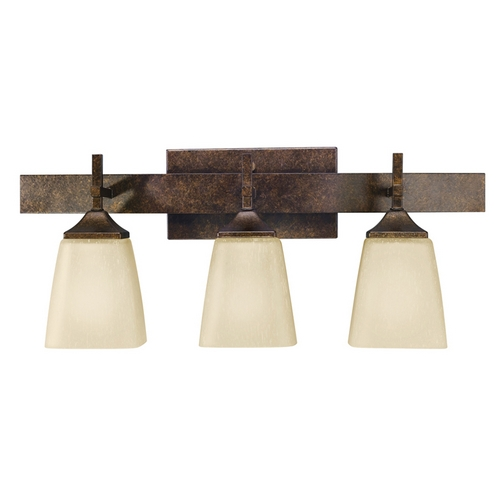 Kichler Lighting Kichler Bathroom Light in Marbled Bronze Finish 5316MBZ