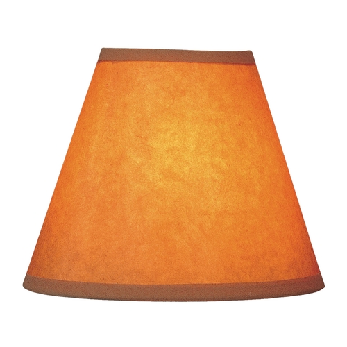 Lite Source Lighting Kraft Paper Empire Lamp Shade with Clip-On Assembly CH531-6