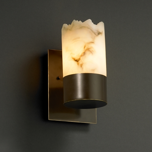 Justice Design Group Justice Design Group Lumenaria Collection Sconce FAL-8761-12-DBRZ