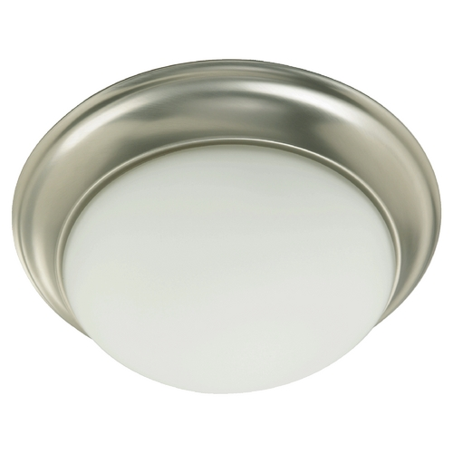 Quorum Lighting Quorum Lighting Satin Nickel Flushmount Light 3507-17-65