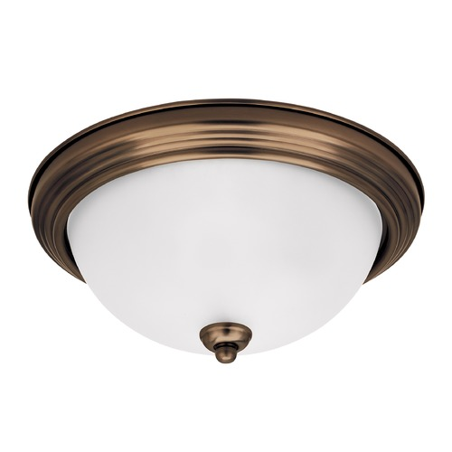Sea Gull Lighting Sea Gull Lighting Ceiling Flush Mount Heirloom Bronze LED Flushmount Light 7716391S-782