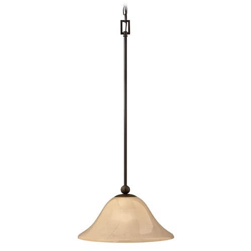 Hinkley Lighting Hinkley Lighting Bolla Olde Bronze Mini-Pendant Light with Bowl / Dome Shade 4661OB-GU24