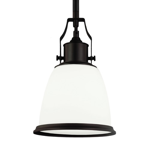 Feiss Lighting Feiss Hobson Oil Rubbed Bronze Mini-Pendant Light P1351ORB