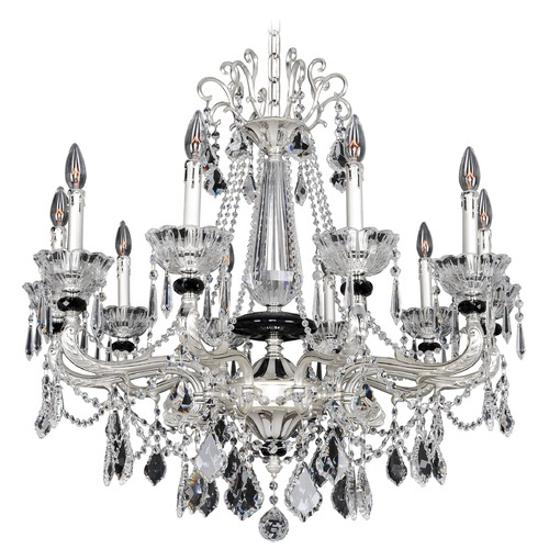 Allegri Lighting Campra 10 Light Crystal Chandelier 024451-017-FR001