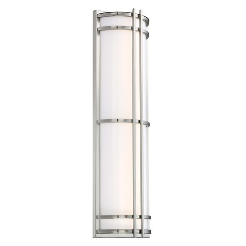 Modern Forms by WAC Lighting Skyscraper LED Wall Light WS-W68627-SS