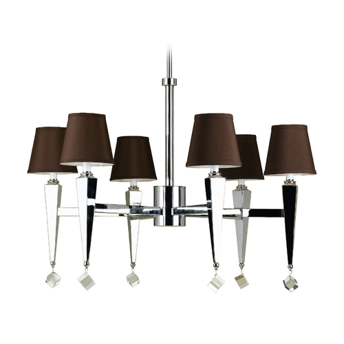 AF Lighting Margo Chandelier 6779-6H
