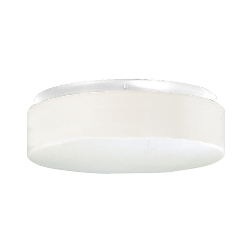 Progress Lighting Progress Close To Ceiling Light with White in White Finish P7376-30