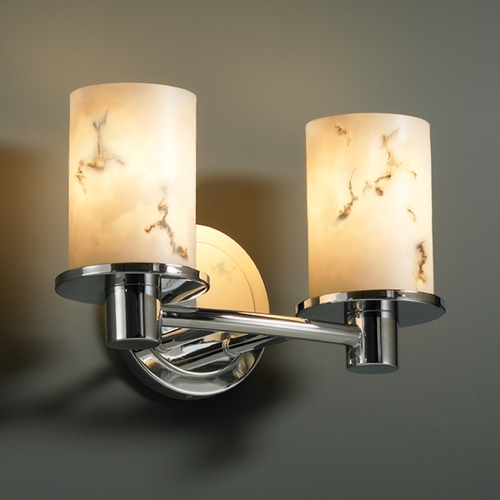 Justice Design Group Justice Design Group Lumenaria Collection Bathroom Light FAL-8512-10-CROM
