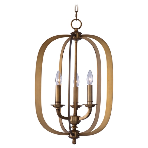 Maxim Lighting Maxim Lighting Fairmont Natural Aged Brass Pendant Light 22372NAB
