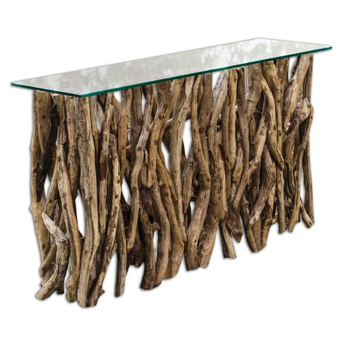 Uttermost Lighting Uttermost Teak Wood Console 25593