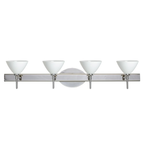 Besa Lighting Besa Lighting Domi Chrome Bathroom Light 4SW-174307-CR