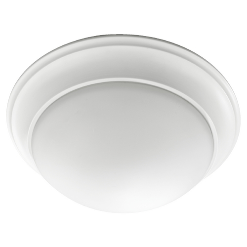 Quorum Lighting Quorum Lighting Studio White Flushmount Light 3507-17-8