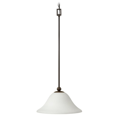 Hinkley Lighting Hinkley Lighting Bolla Olde Bronze Mini-Pendant Light with Bowl / Dome Shade 4661OB-OP-GU24