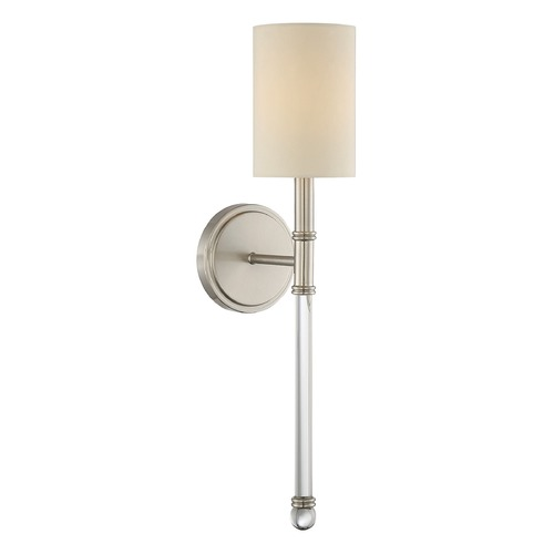 Savoy House Savoy House Lighting Fremont Satin Nickel Sconce 9-101-1-SN