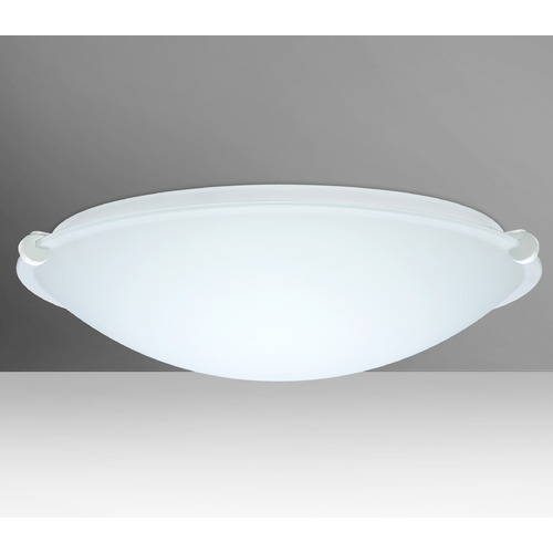 Besa Lighting Besa Lighting Trio White LED Flushmount Light 968107-LED-WH