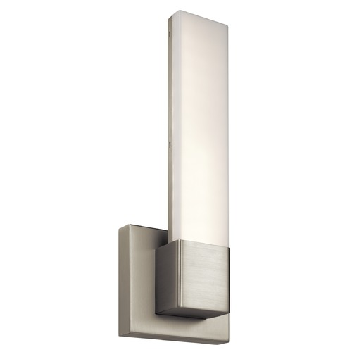 Elan Lighting Elan Lighting Pril Satin Nickel LED Sconce 83793