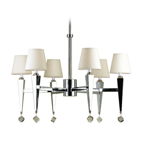 AF Lighting Margo Chandelier 6780-6H