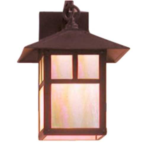 Arroyo Craftsman Lighting 12-7/8-Inch Copper Outdoor Wall Light EB-9T-RC-GW