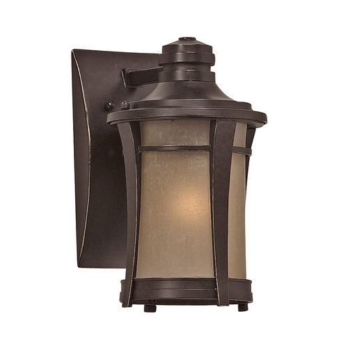 Quoizel Lighting 10-1/2-inch Outdoor Wall Light HY8407IB
