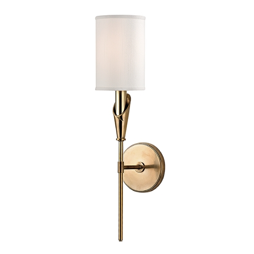 Hudson Valley Lighting Hudson Valley Lighting Tate Aged Brass Sconce 1311-AGB