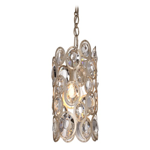 Crystorama Lighting Crystorama Lighting Sterling Distressed Twilight Mini-Pendant Light 7580-DT