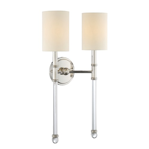Savoy House Savoy House Lighting Fremont Polished Nickel Sconce 9-103-2-109