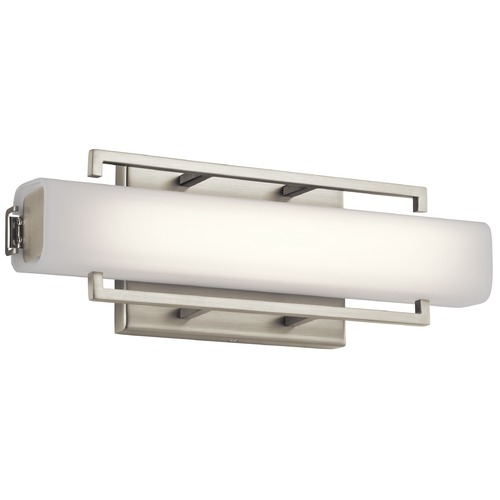 Elan Lighting Elan Lighting Perov Brushed Nickel LED Sconce 83750