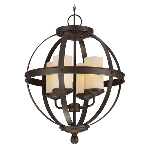 Sea Gull Lighting Sea Gull Lighting Sfera Autumn Bronze LED Mini-Chandelier 3190404EN3-715