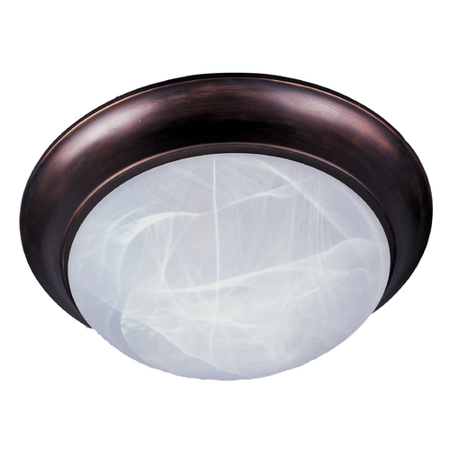Maxim Lighting Maxim Lighting Oil Rubbed Bronze Flushmount Light 5852MROI