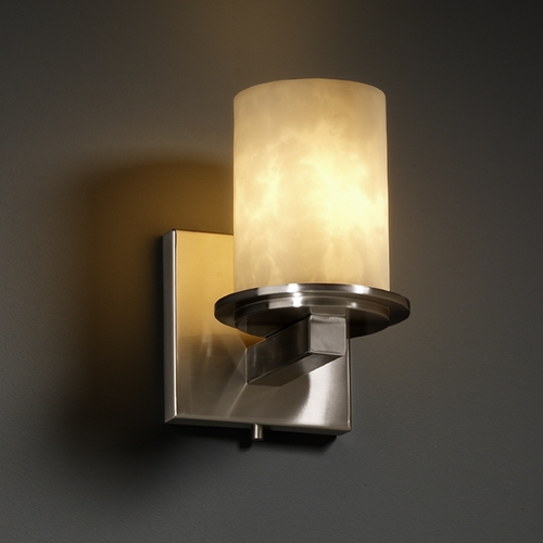 Justice Design Group Justice Design Group Clouds Collection Sconce CLD-8771-10-NCKL